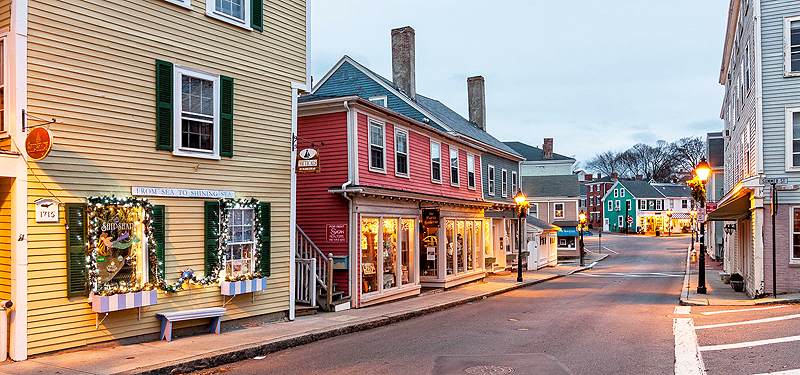 Marblehead seaside village